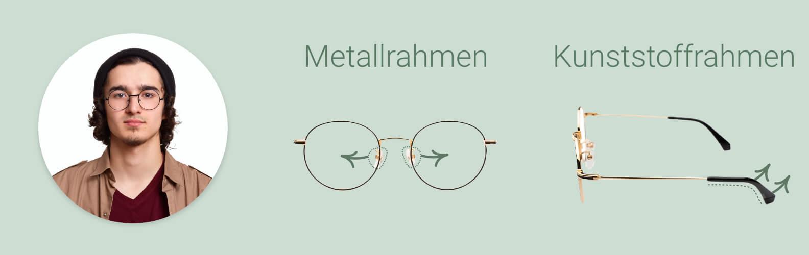 Wie Sie Brille und Nasenpads lockern