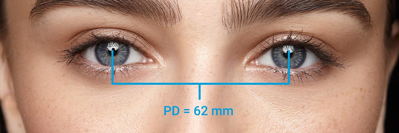 wie messe ich die Pupillendistanz (PD)