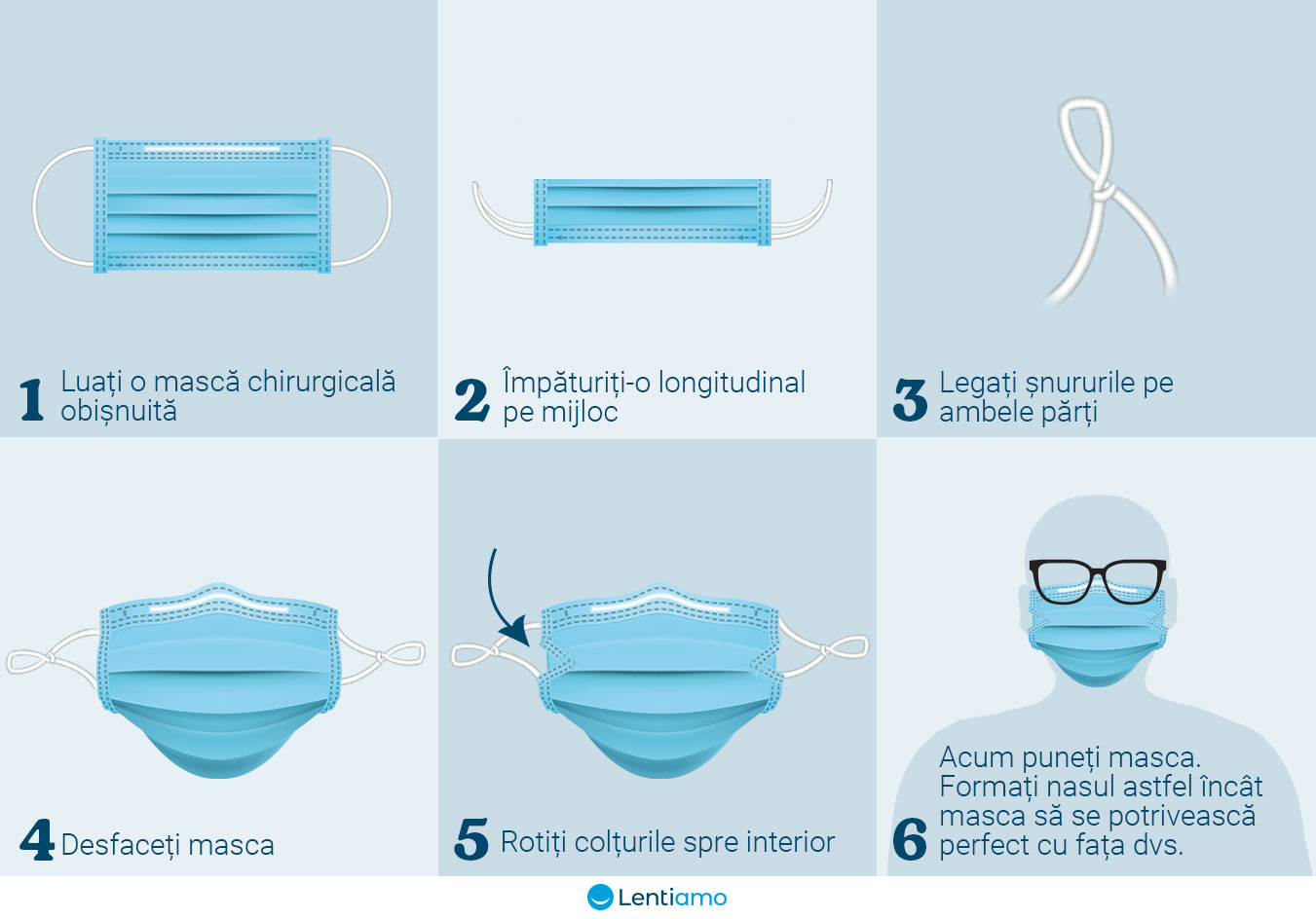 how to fold mask
