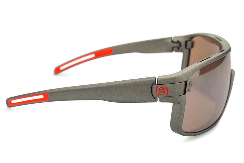 terminales de goma en gafas de sol