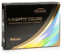 Coloured Air Optix Colors contact lenses in three new shades
