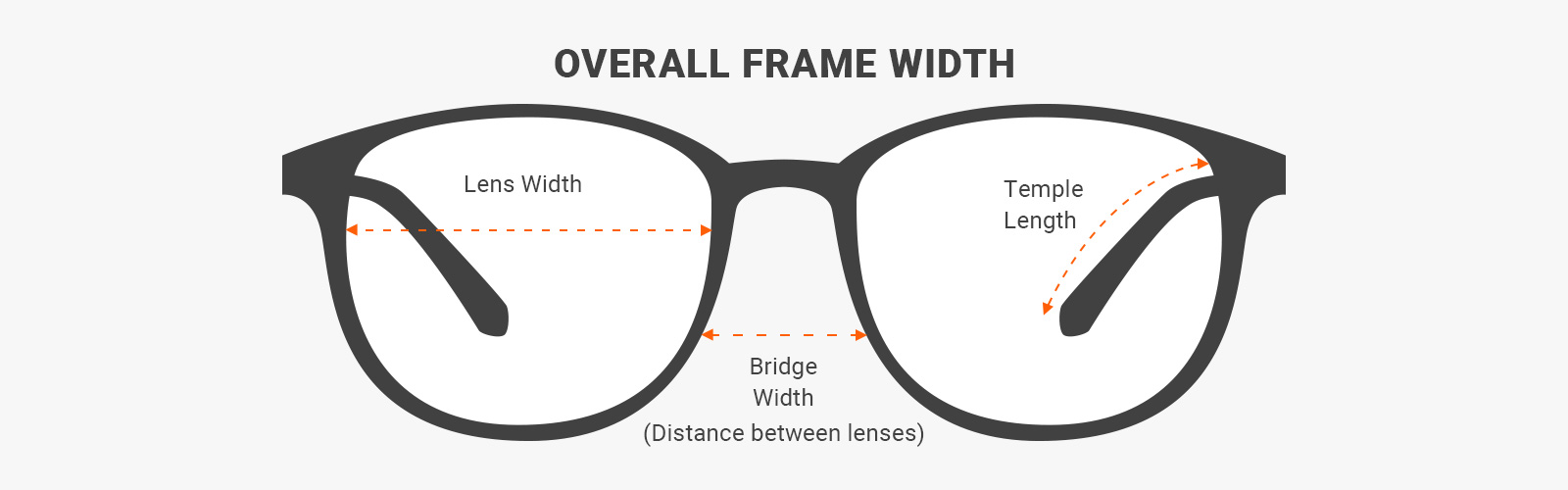 how to read glasses measurements - what is lens width, bridge width and temple lenght